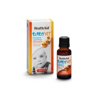 Babyvit® 25ml Gusto Arancio (da 0 a 4 anni)