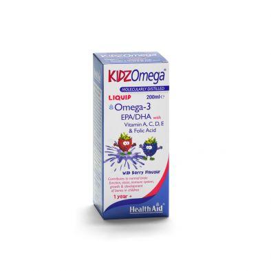 KidzOmega® Liquid (Vit. A, D, E, EPA/DHA) 200ml